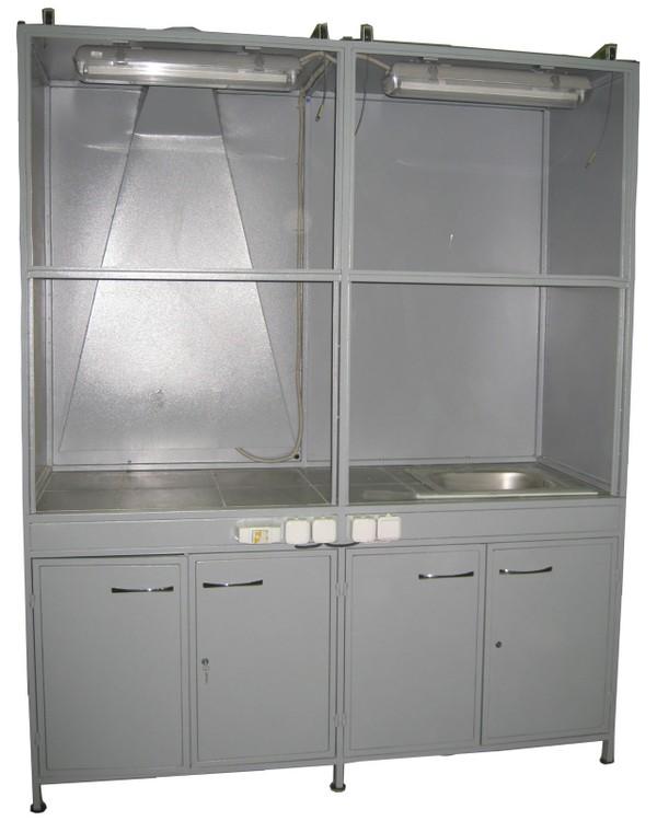 Шкаф вытяжной сдвоенный ШК 13-03