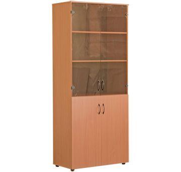 шкаф для книг остекленный