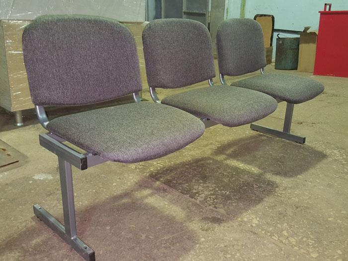 блок стульев ИЗО в Караганде