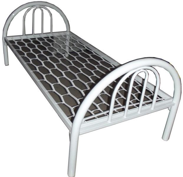 кровать с плющенной сеткой 819