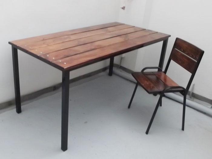 """стол и стул для уличных кафе """"Сказка"""" в Караганде"""