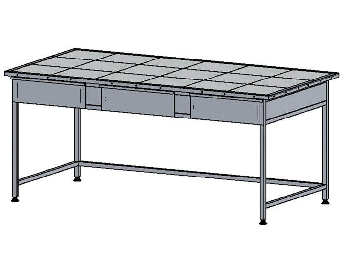 Стол лабораторный (керамогранит)